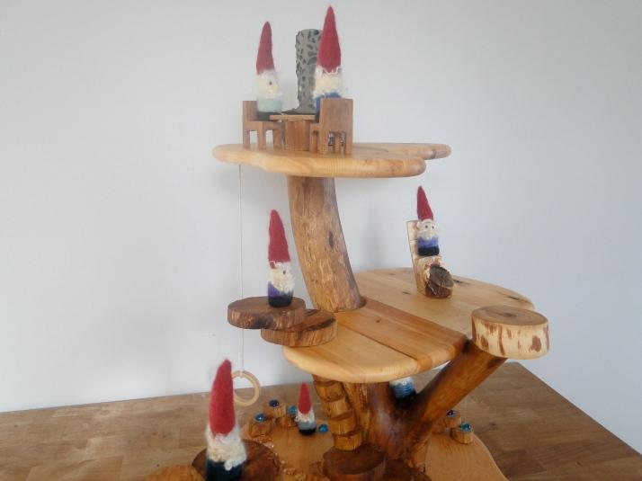 Gnome tree house.