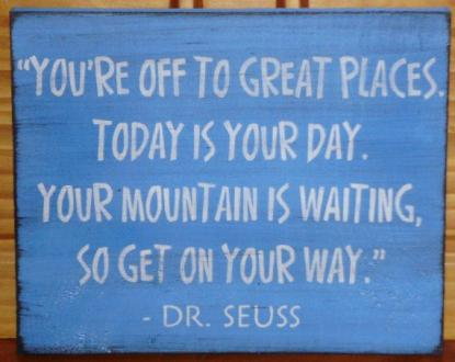 Dr. Seuss saying