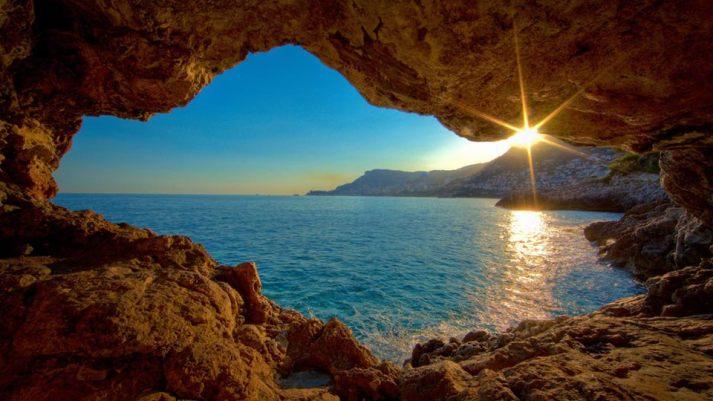 cave ocean view
