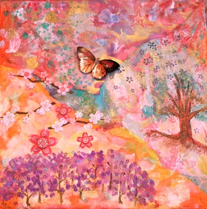 Mixed Media and watercolors